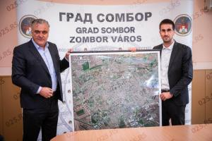 DIREKTOR RGZ: Sombor je moderan grad sa rukovodstvom koje digitalno razmišlja